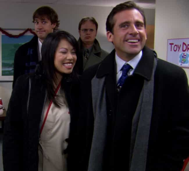 A Benihana Christmas is listed (or ranked) 4 on the list The Best Christmas Episodes On 'The Office'