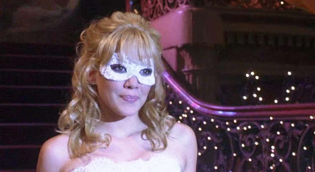Sam - 'A Cinderella Story' is listed (or ranked) 3 on the list 14 Times Characters Used Embarrassingly Bad Disguises In Movies