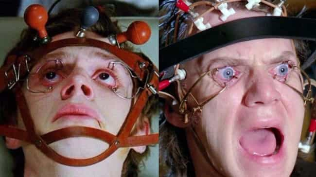 A Clockwork Orange is listed (or ranked) 1 on the list All The Brilliant Horror And Suspense Movie Homages In 'American Horror Story'