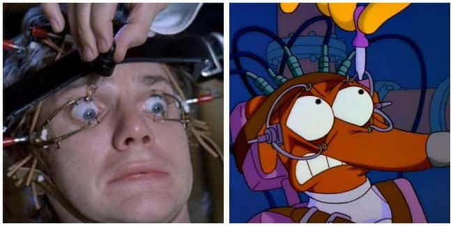 A Clockwork Orange is listed (or ranked) 1 on the list 'Simpsons' Movie Parodies You Probably Missed As A Kid, Ranked
