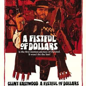A Fistful of Dollars is listed (or ranked) 8 on the list The Best Movies of the '60s