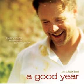 A Good Year is listed (or ranked) 4 on the list The Best Movies About Dating In Your 40s
