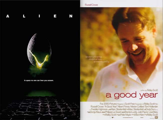 A Good Year is listed (or ranked) 6 on the list 21 Surprisingly Bad Movies Directed by Good Directors