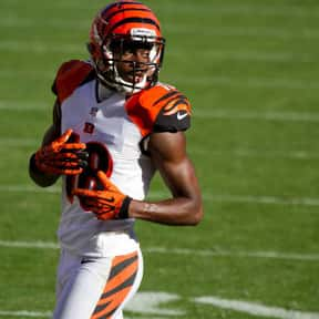 A. J. Green is listed (or ranked) 17 on the list The Best Wide Receivers of All Time