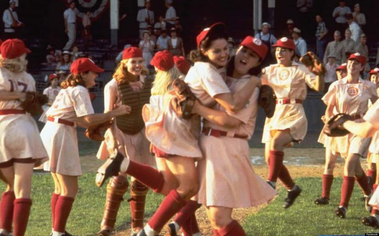 The Rockford Peaches from A Le is listed (or ranked) 2 on the list The Best Female Friendships in Film