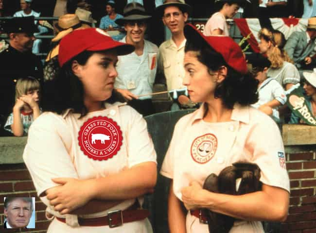 A League of Their Own is listed (or ranked) 3 on the list Donald Trump's Least Favorite Films