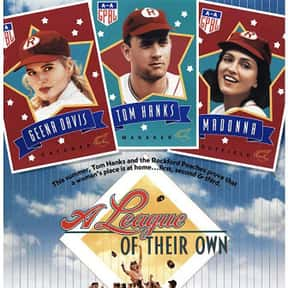 A League of Their Own is listed (or ranked) 12 on the list The Best Comedy-Drama Movies