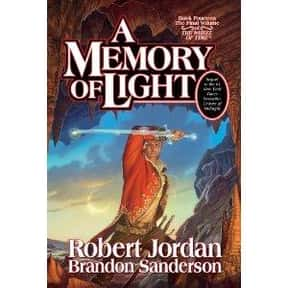 A Memory of Light is listed (or ranked) 11 on the list The Best Brandon Sanderson Books