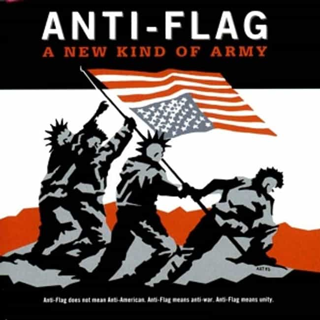 A New Kind of Army is listed (or ranked) 3 on the list The Best Anti-Flag Albums of All Time