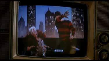 Freddy Executes Zsa Zsa Gabor On TV In 'A Nightmare on Elm Street 3: Dream Warriors'