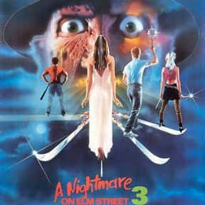 A Nightmare on Elm Street 3: D is listed (or ranked) 17 on the list The Best Horror Movies Of The 1980s
