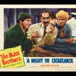 A Night in Casablanca is listed (or ranked) 19 on the list The Best Comedies of the 1940s