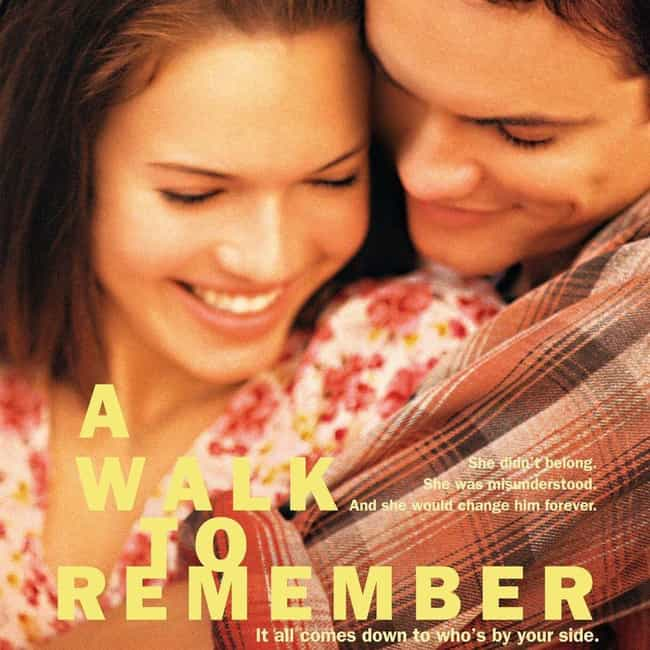 A Walk to Remember is listed (or ranked) 2 on the list What to Watch If You Love The Fault in Our Stars