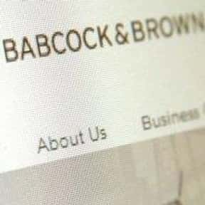 Babcock & Brown is listed (or ranked) 7 on the list Companies Founded in San Francisco