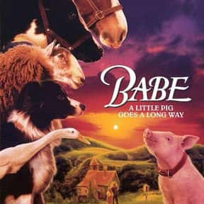 Babe is listed (or ranked) 25 on the list The Greatest Animal Movies Ever Made