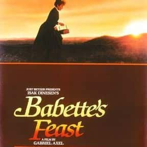 Babette's Feast is listed (or ranked) 12 on the list The Best Movies About Cooking
