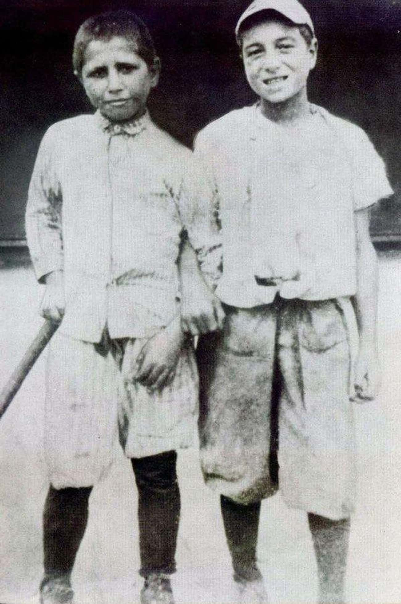 Babe Ruth (On Right) - 7 Years Old, 1902