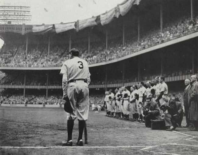 Babe Ruth is listed (or ranked) 38 on the list The Last Known Photos of 52 Famous People