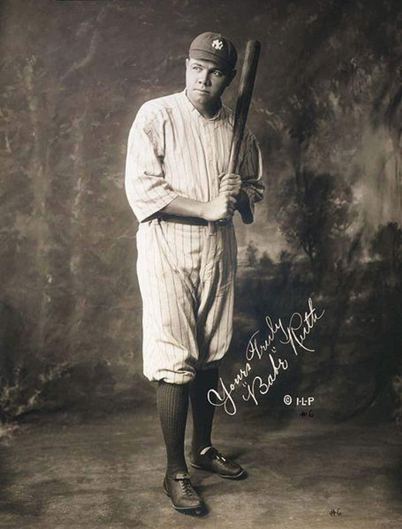 Babe Ruth is listed (or ranked) 4 on the list The Coolest Celebrity Autographs