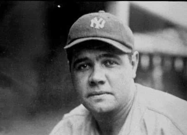 Babe Ruth is listed (or ranked) 4 on the list Baseball Players With The All Time Weirdest Superstitions
