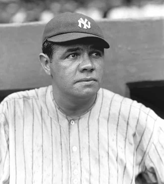 Babe Ruth is listed (or ranked) 3 on the list 14 Athletes with ADHD