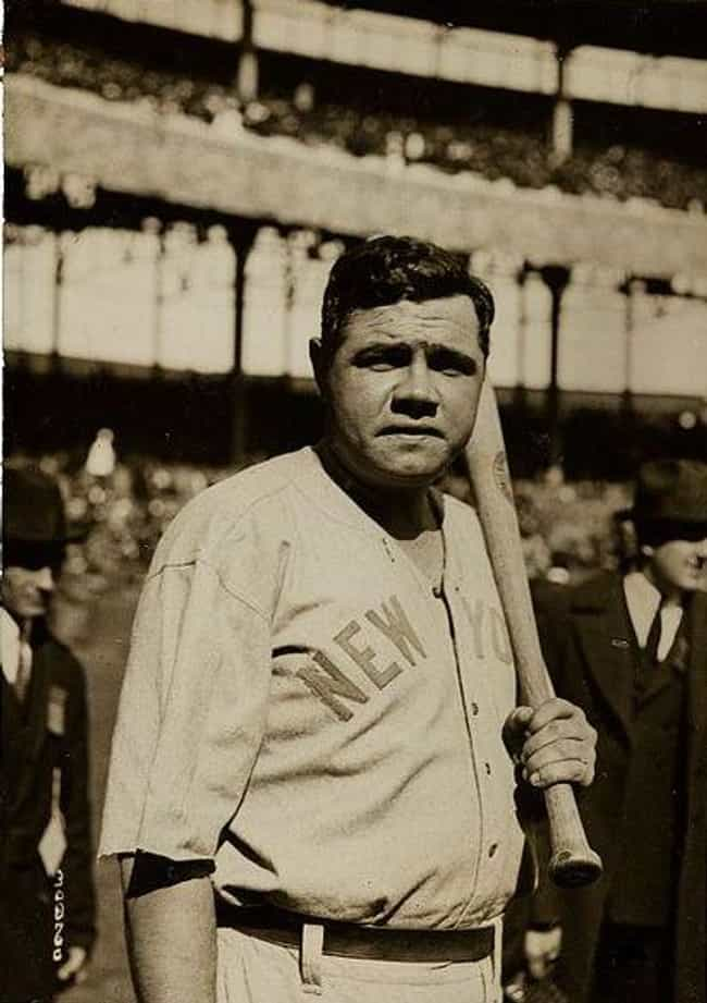 Babe Ruth is listed (or ranked) 3 on the list Which Historical Figure Would Win In An All-Night Drinking Competition?