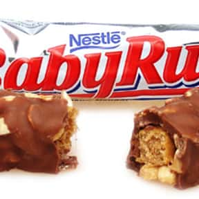 Baby Ruth is listed (or ranked) 25 on the list The Best Chocolate Bars