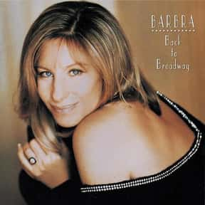 Back to Broadway is listed (or ranked) 21 on the list The Best Barbra Streisand Albums of All Time