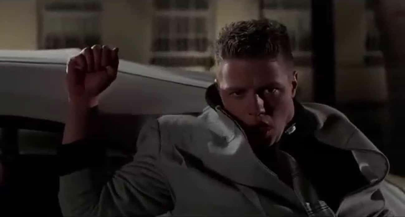 George McFly Punches Biff Outside The School Dance, 'Back to the Future'