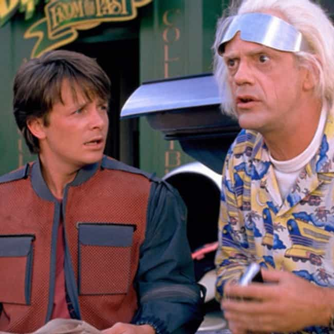 Back to the Future is listed (or ranked) 4 on the list What to Watch If You Love Rick and Morty