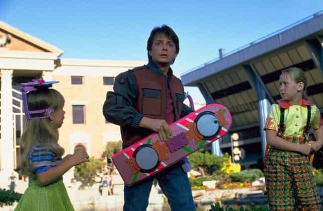 Back to the Future Part ... is listed (or ranked) 2 on the list Old Futuristic Movies Whose Futures We've Passed