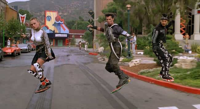 Back to the Future Part II is listed (or ranked) 3 on the list Stunts That Went Wrong And Still Made The Final Cut