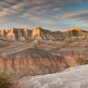 Badlands National Park is listed (or ranked) 18 on the list The Best National Parks in the USA