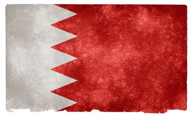 Bahrain is listed (or ranked) 2 on the list Countries of the Middle East