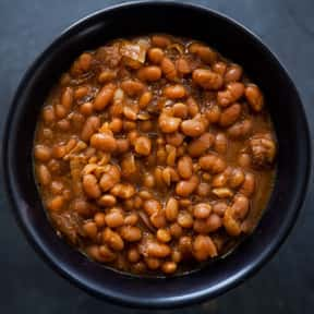 Baked beans is listed (or ranked) 12 on the list The Worst Foods to Eat on a Date