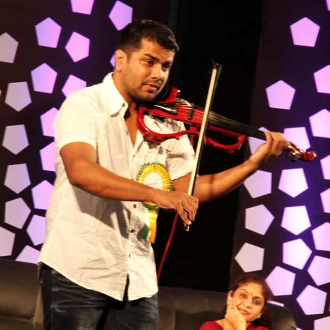 Balabhaskar is listed (or ranked) 1 on the list Famous Violinists from India