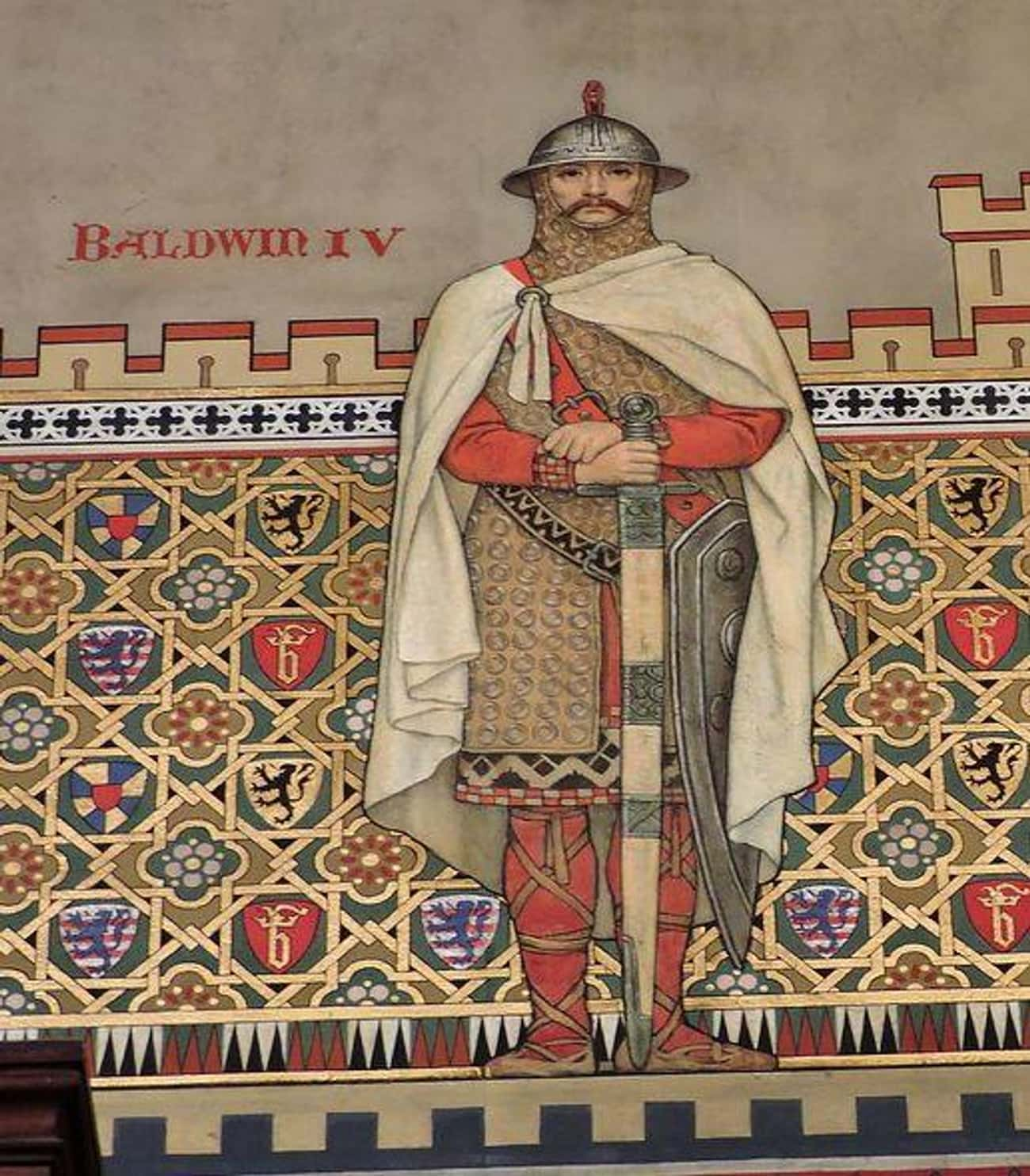King Baldwin IV's Leprosy is listed (or ranked) 2 on the list The Signature Afflictions Suffered By Some Of History's Most Famous Royals