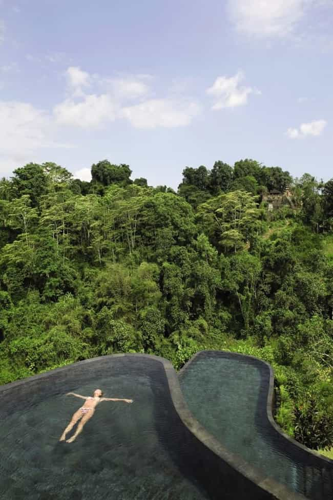 Bali is listed (or ranked) 8 on the list The 35 Coolest Pools in the World