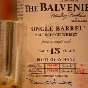 The Balvenie is listed (or ranked) 1 on the list The Best Scotch Brands
