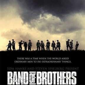 Band of Brothers is listed (or ranked) 3 on the list The Greatest World War II Movies of All Time