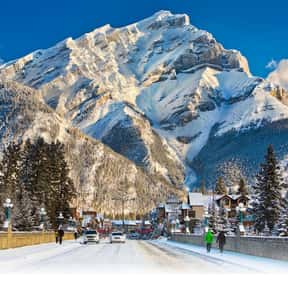 Banff is listed (or ranked) 10 on the list The Best Winter Destinations