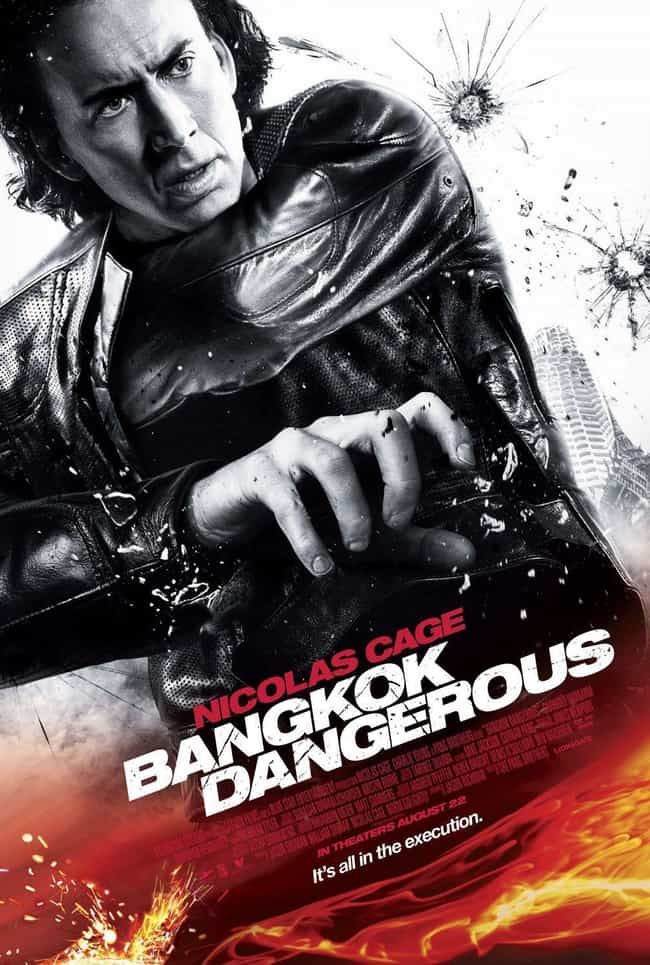 Bangkok Dangerous is listed (or ranked) 7 on the list Movie Posters Where Actors Heads Are Clearly Photoshopped Onto Different Bodies