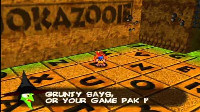 Banjo-Kazooie is listed (or ranked) 2 on the list 15 Video Games That Relentlessly Mock You For Cheating