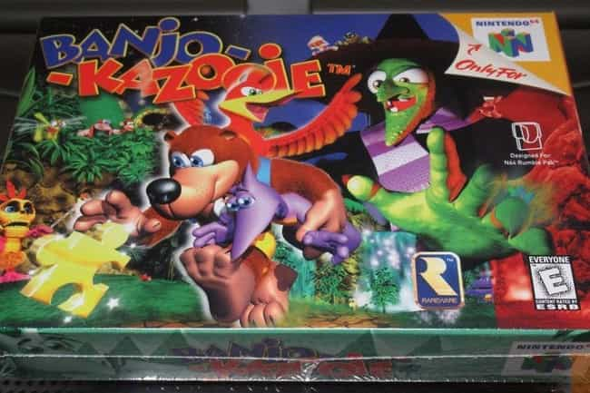 Banjo-Kazooie is listed (or ranked) 8 on the list The Most Ridiculously Valuable Nintendo 64 Games
