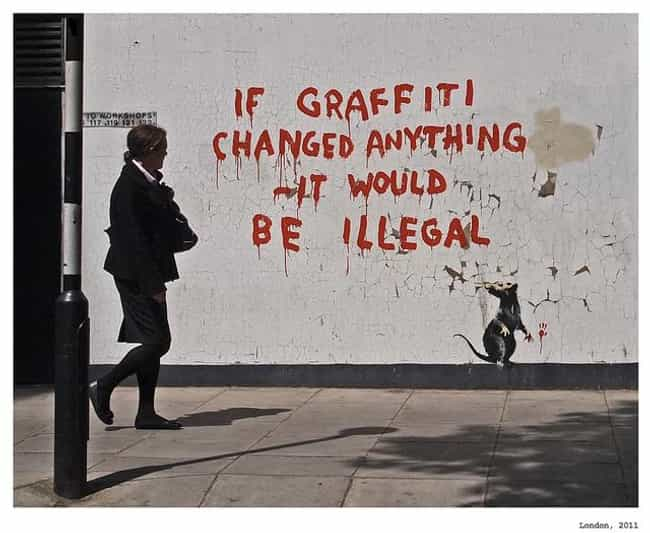 Banksy is listed (or ranked) 1 on the list The Best Graffiti Artists