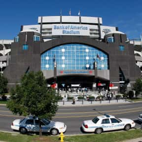 Bank of America Stadium is listed (or ranked) 16 on the list The Best NFL Stadiums