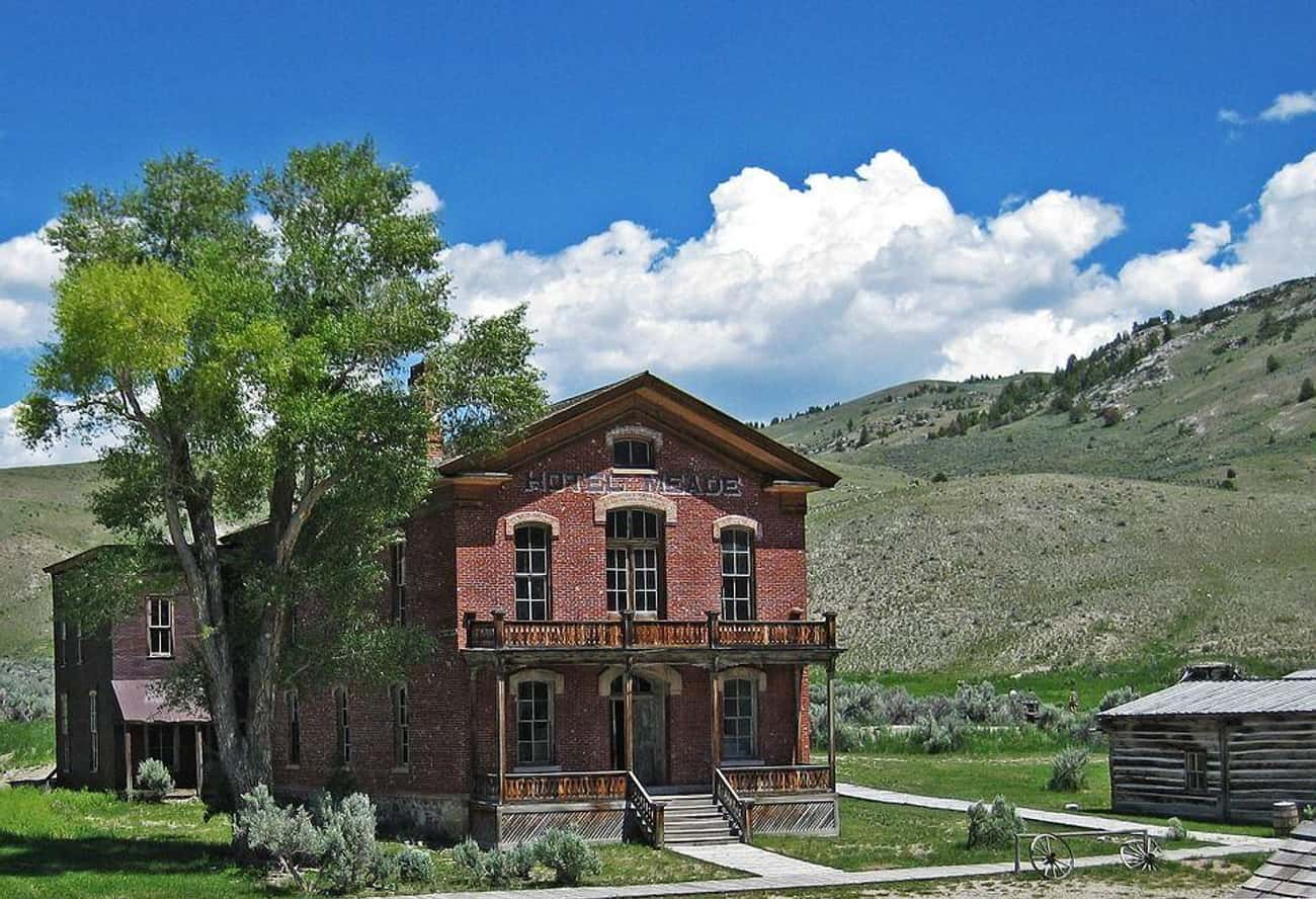 Bannack is listed (or ranked) 4 on the list America's Coolest Ghost Towns