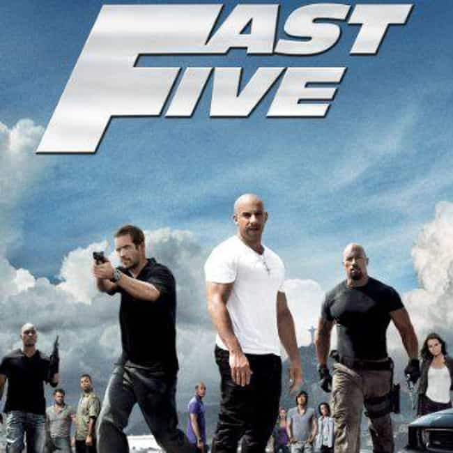 Fast Five is listed (or ranked) 2 on the list All 9 'Fast and Furious' Movies, Ranked Best to Worst