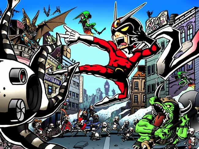 Viewtiful Joe is listed (or ranked) 4 on the list 12 Forgotten Video Game Mascots That Need To Make A Comeback