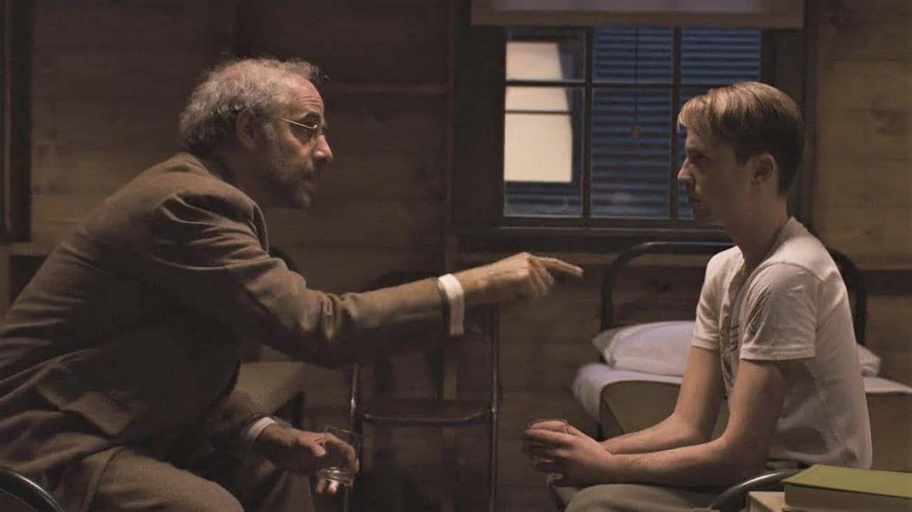 'Captain America: The First Avenger' - Dr. Abraham Erskine Tells Steve To 'Be A Good Man'